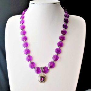 Purple & Star Beads