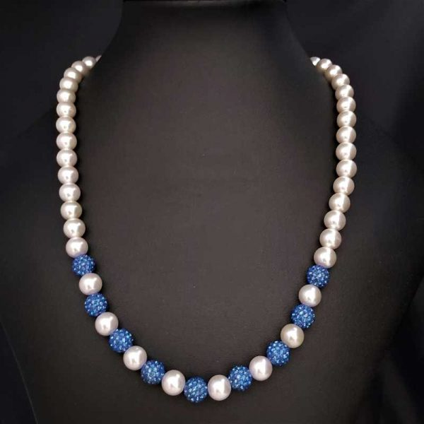 Sparkly Blue Necklace