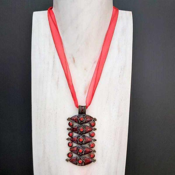 Ruby Festival Necklace