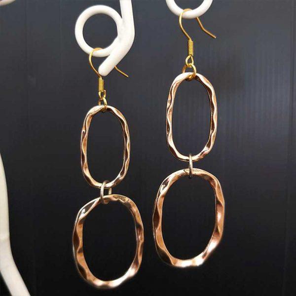 Long Hoop Earrings