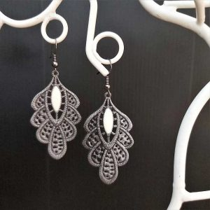Large Filigree Earrings