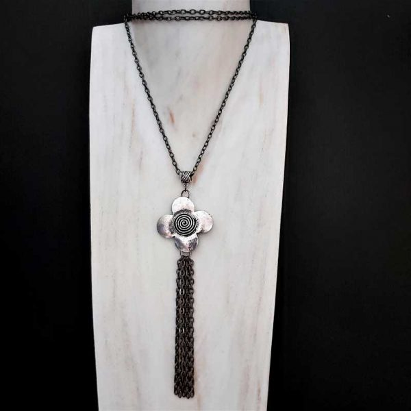 Long Cascading Necklace