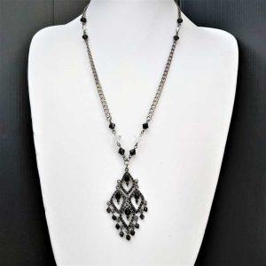 Gothic Black Necklace
