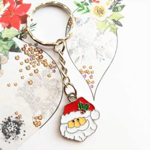 Father Christmas Keyring