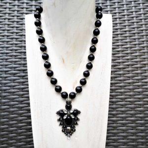 Black Gothic Necklace