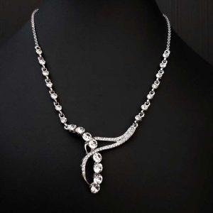 Stunning Diamante Necklace