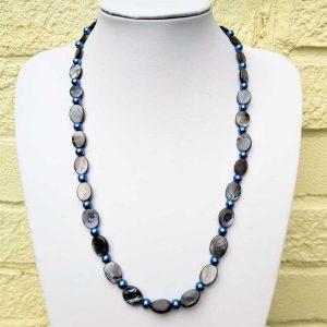 Grey Bead Necklace