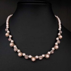 Dainty Pink Necklace